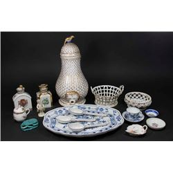 Lot Porcelain Pieces, Meissen, Royal Vienna, etc.