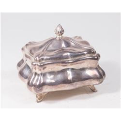 Austrian Silver Footed Etrog Box