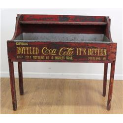 Early 1900s Coca-Cola Wooden Ice Box