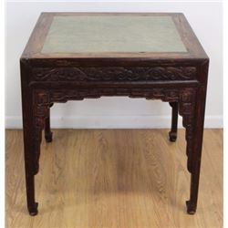 Antique Chinese Stone Top Table