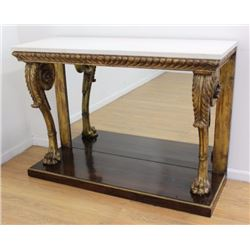 Regency Period Carved & Giltwood Console