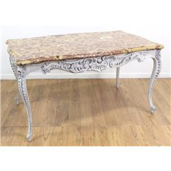 19th Century Paint Decorated French Center Table