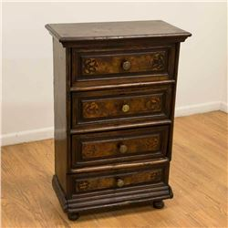 18th Century Northern Italian 4-Drawer Chest
