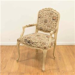 Louis XV Style Fauteuil by Council