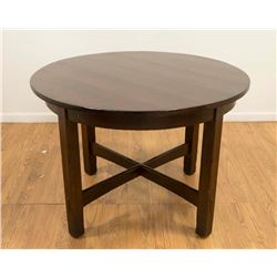 Stickley Round Mission Oak Table