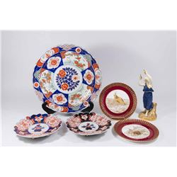 Imari, Copeland, & Royal Worcester Pieces