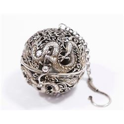 Chinese Metal Open Reticulated Tea Ball