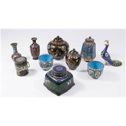 Group Lot Chinese Cloisonné