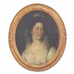 Oil on Board, Portrait of a Lady