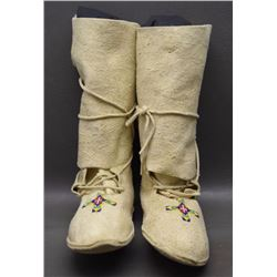 SIOUX HIGH TOP MOCCASINS