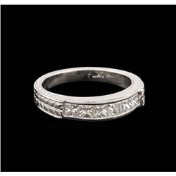 14KT White Gold 0.60 ctw Diamond Ring