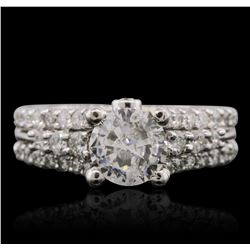 14KT White Gold 1.87 ctw Diamond Ring