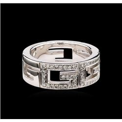 Gucci 0.44 ctw Diamond Ring - 18KT White Gold