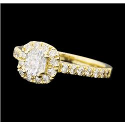 1.25 ctw Diamond Ring - 14KT Yellow Gold