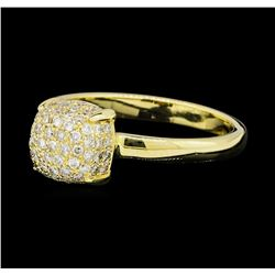 0.46 ctw Diamond Ring - 14KT Yellow Gold