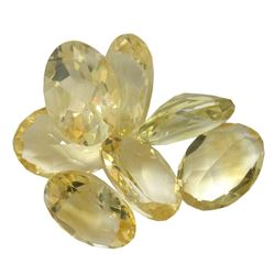 31.08 ctw Oval Mixed Citrine Quartz Parcel