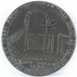 Token: 1794 GB - Somersetshire Bath Halfpenny Condor Token.