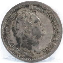 1834 Great Britain 1 1/2 Pence - William IIII.