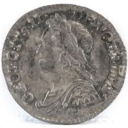 1746 Great Britain Maundy Penny - George II.