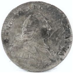 1800 Great Britain Maundy Penny - George III.