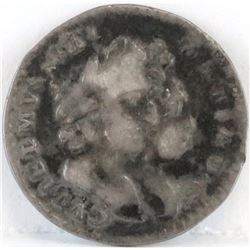 1694 England 2 Pence - William  Mary.