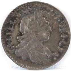 1699 England 3 Pence - William III.
