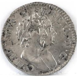 1689 England 3 Pence - William  Mary.