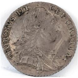 1787 Great Britain Schilling - George III.