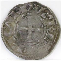 1189-1196 Anglo-Gallic - Denier of Poitou - Richard I.
