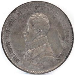 1818-A German States - Prussia Thaler.