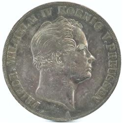 1843-A German States - Prussia 2 Thaler.