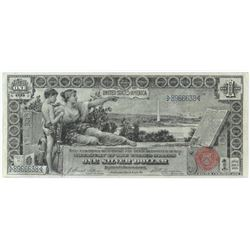 1896 $1 Silver Certificate Note - Educational. FR# 224.