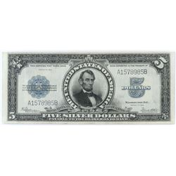 1923 $5 Silver Certificate (Porthole) Note. FR# 282.
