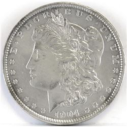 1904 Morgan Dollar.