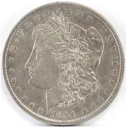 1894 O Morgan Dollar.