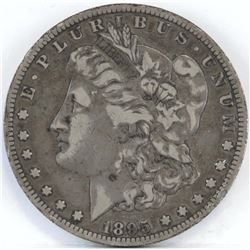 1895 O Morgan Dollar.