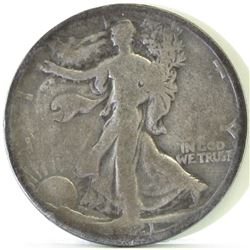 1921 D Walking Liberty Half Dollar.