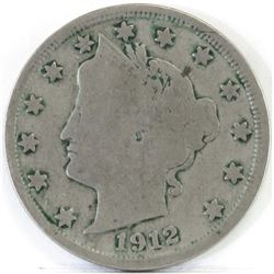 1912 S Liberty Nickel.