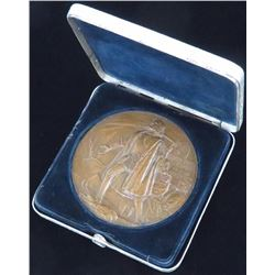 World's Columbian Exposition, 1892-1893. Official Medal for Exhibitors. Bronze Copper. 76.7mm.