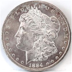 1884 CC Morgan Dollar.