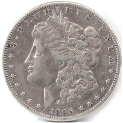 1895 S Morgan Dollar.