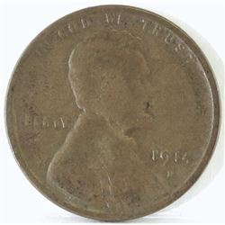 1914 D Lincoln Wheat Cent.