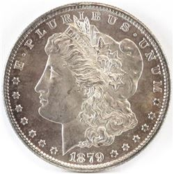 1879 S Morgan Dollar - rev. of 79.