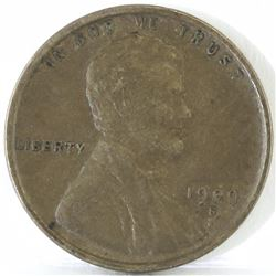 1909 S VDB Lincoln Wheat Cent - Key Date.