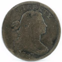 1797 Draped Bust Large Cent.