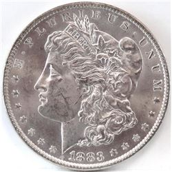 1883 O Morgan Dollar - Clash 'E' VAM 22A - Hot 50.