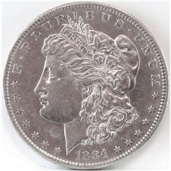 1884 S Morgan Dollar.
