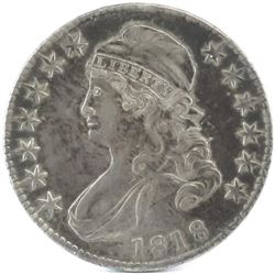 1818 Capped Bust Half Dollar.