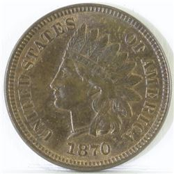 1870 Indian Head Cent.