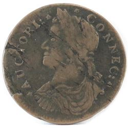Early American: 1787 Draped Bust Left Connecticut.